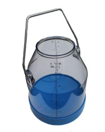 Seau de traite en plastique, 30 litres