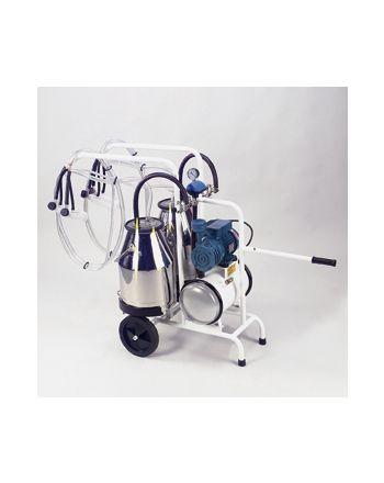 La machine à traire mobile pour chèvres (2 pots et 2 postes)